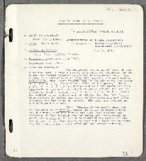 Eyewitness account by Clara Gronau regarding her life in Vienna under the sponsorship of Bertha Pappenheim